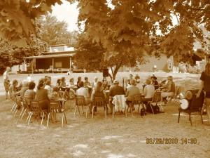 "Community Drum Circle - ""Spirit Drum"" at Naramata Centre"